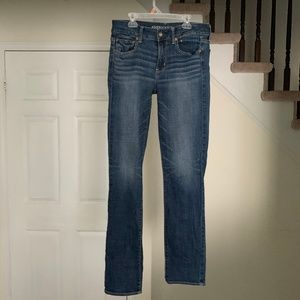 American Eagle Super Stretch Straight Denim Jeans
